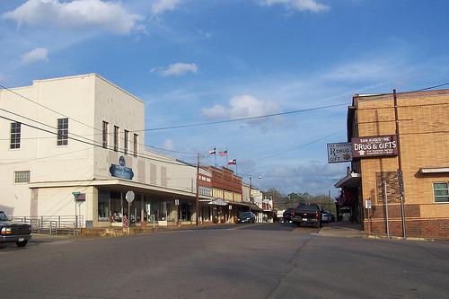 "San Augustine Named ""Texas Main Street City"""