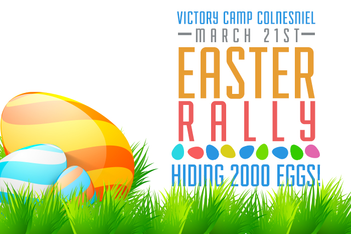 Easter Egg Hunt Contest at Victory Camp Colmesniel