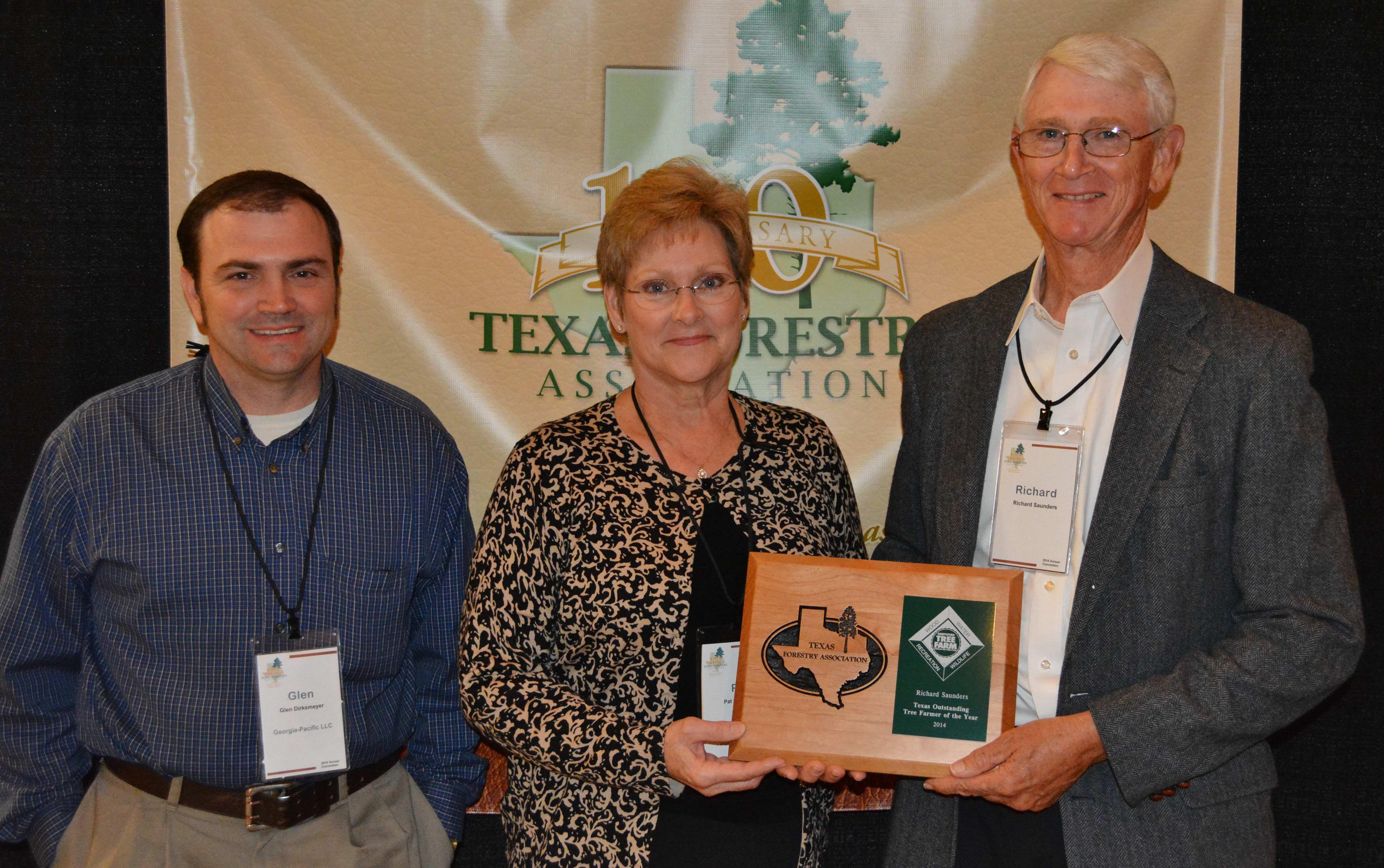 TFA and Richard Saunders' to Host 2015 Texas Outstanding Tree Farm Tour