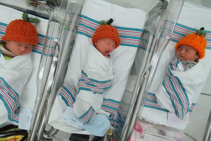 Baby Pumpkins at CHI St. Luke's Health Memorial