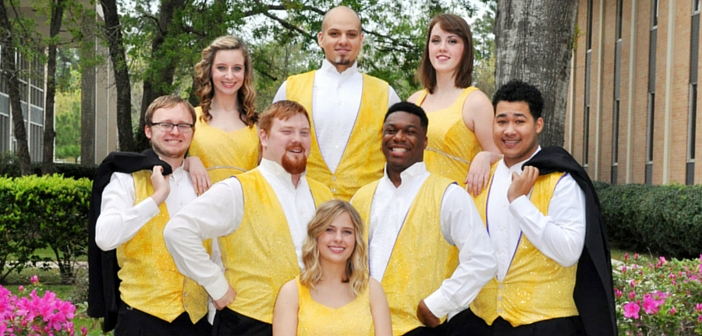 Angelina College's AC Singers Presenting 'Showtime! 2016' at Temple Theater