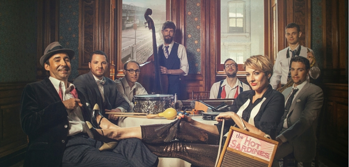 It's Joyous Jumpin' JAZZ with THE HOT SARDINES At AC's Temple Theater April 5