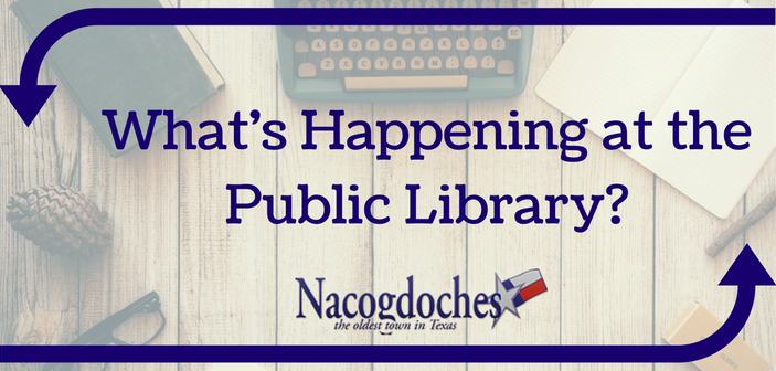 What's Happening at the Public Library?