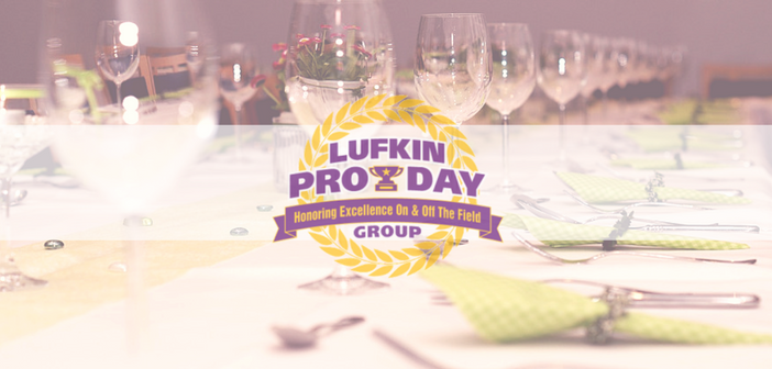 Lufkin Pro Day Group Honors Runnels, Lane, And Hearne At Event