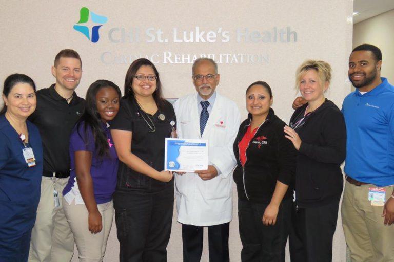 CHI St. Luke's Health-Memorial Cardiac Rehabilitation Program Earns Prestigious Certification