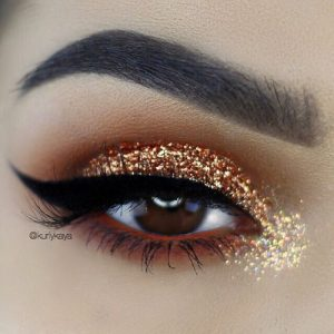 Some women look forward to the holiday season simply because of the freedom to wear glitter eye-shadow without judgment.