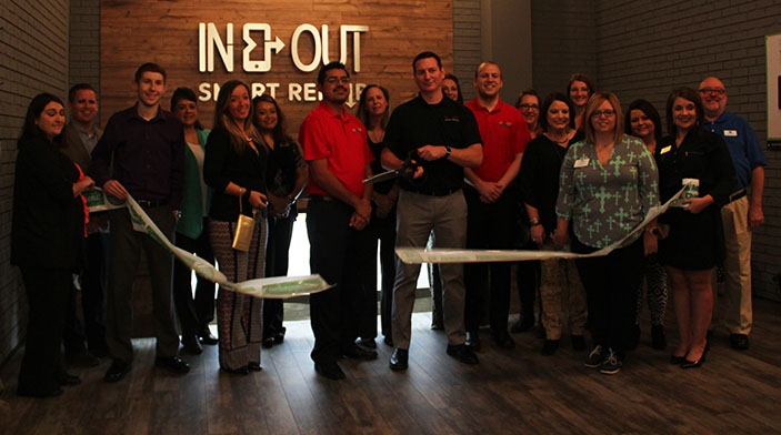 Lufkin's In-and-Out Smart Repair Joins Chamber