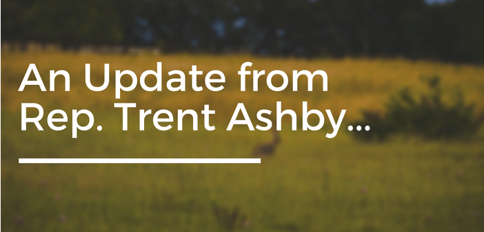 An Update From Trent Ashby