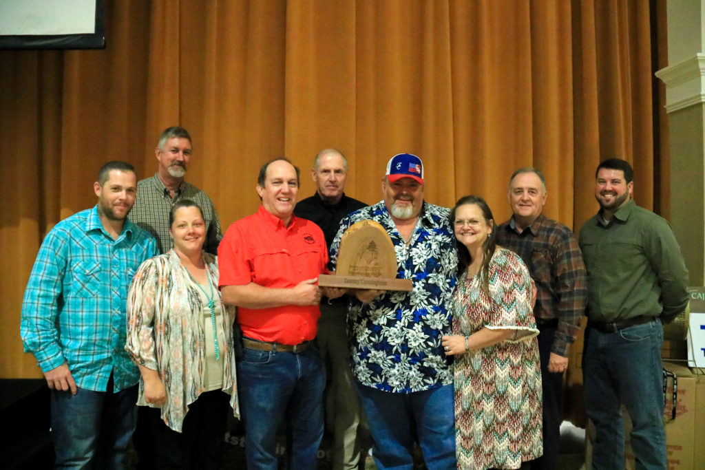 Texas Forestry Association Presents Outstanding Logger Award To Tommy Cunningham Logging