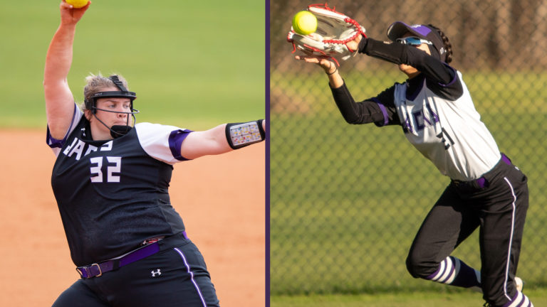 Kriesel, Arriaga Represent SFA on Southland All-Academic Teams