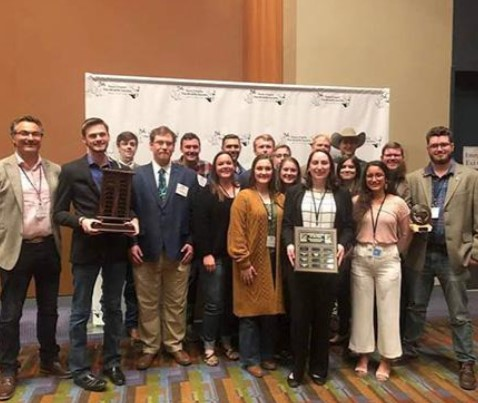 SFA's student chapter of The Wildlife Society receives national recognition