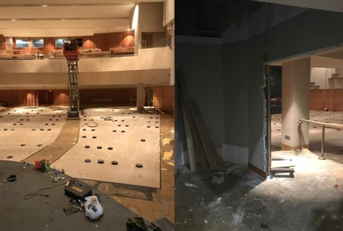 Griffith Fine Arts Building renovation, expansion underway