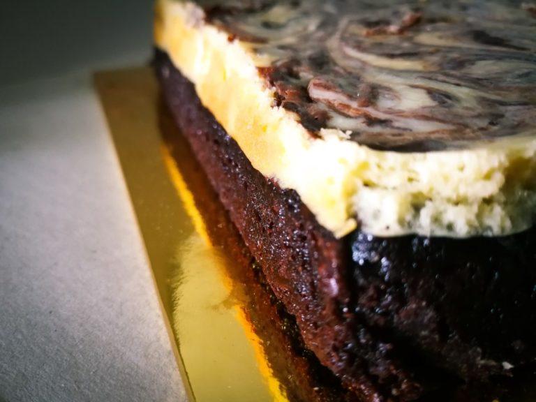 Brownie Bottom Cheesecake- #FoodieFriday!