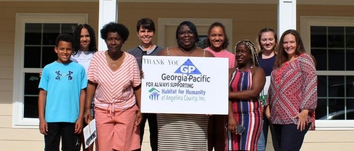 Georgia-Pacific Partners with Habitat to Build New Homes in Huntington