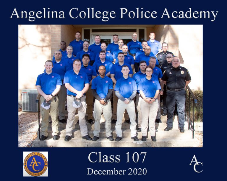 Angelina College Police Academy Graduates 26 Cadets Future LEOs Encouraged to Serve Communities 'Professionally and Ethically'