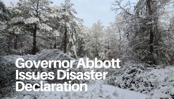 Governor Abbott Issues Disaster Declaration, Continues To Deploy Resources As Severe Winter Weather Impacts Texas