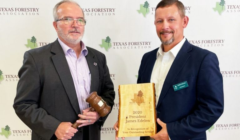 TEXAS FORESTRY ASSOCIATION ANNOUNCES DR. HANS WILLIAMS AS 2021 PRESIDENT