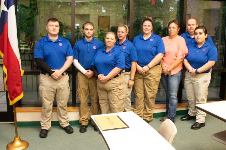 Angelina College Police Academy Graduates New Cadets