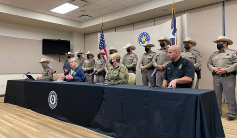Governor Abbott Provides Update On Operation Lone Star In Weslaco