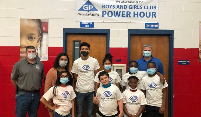 Georgia-Pacific and Boys and Girls Club Give Students the Power to Read